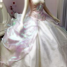 Holographic wedding dress...yes yes yes to this dress!