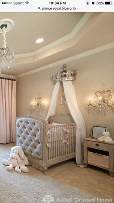 15 Cutest Baby Girl Nursery Room Ideas (pink & girly) Every mother dreams about decorating her baby girls' nursery. When you think of a baby girl nursery room most people think pink and girly. Today, that's exactly what I'm going to give you.