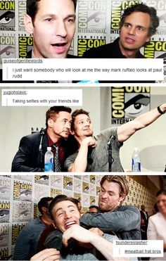 Avengers at 2014 Comic Con + text posts #2