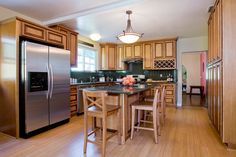 the fastest kitchen remodel ever. i designed it... and it was gutted & remodeled in just 4 days!!