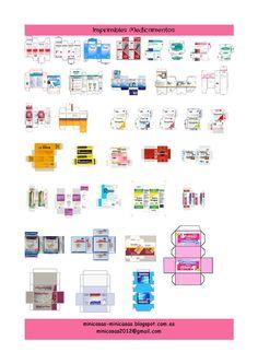 imprimibles de medicamentos escala 1:12
