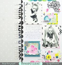 Designer @raquelp shares this beautiful layout that she created using the…