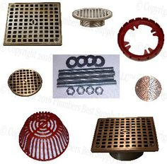 Floor U0026 Roof Drain Parts From Leading Manufacturers Wade, Jay R Smith,  Mifab,