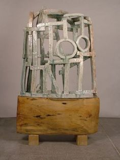 Brandon Reese.  Believe it or not this actually stoneware sculpture.