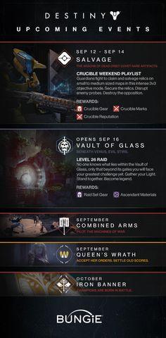 Bungie : News : Destiny Events Inbound