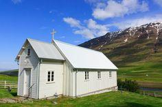 The little church at Bakki in Öxnadalur, Iceland...built in 1843.