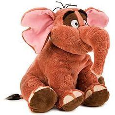 Disney Tarzan Tantor Plush Toy -- 11''