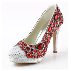 Zioso TMZ350 Women's Round Toe White/Red Satin Bridal Wedding Evening Formal Party Pumps Shoes US Size 10. Satin upper,Cushioned insole,Rubber sole. Shoes can be dyed with different color with left picture,If needed,Please go ahead to make order directly and keep remind us about your special request by email. Customized heel height and heel style type,Or custom made other details by yourself,Please check us by email if needed. Handmade high quality women's shoes,It suit for bridal…