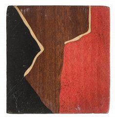 Sonia Delaunay, vers 1925, bouton, maqueterie. Déboutonner la mode - du 10 février au 19 juillet 2015