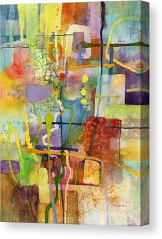 Art Print featuring the painting Flower Dance by Hailey E Herrera Colorful Abstract Art, Abstract Watercolor, Watercolor Paintings, Flower Dance, Paint Paint, Dance Paintings, Acrylic Art, Abstract Expressionism, Oeuvre D'art