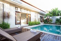 Check out this awesome listing on Airbnb: Spacious, Private 2BR Villa w/ Pool - Houses for Rent in North Kuta