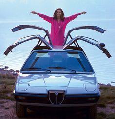 Lancia Beta Mizar 4, 1974: Vier Flügeltüren waren die Attraktion dieses...