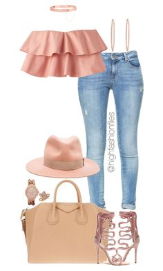 """""""Untitled #2737"""" by highfashionfiles on Polyvore featuring Zara, Eddie Borgo, Effy Jewelry, Givenchy, rag & bone, Hervé Léger and Blue Nile"""