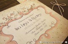 AboutLove - Convite de Casamento Poema