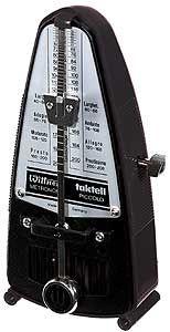 Wittner Metronome Piccolo 836: mechanical metronome. Colour: Black.