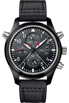 IWC Pilot's Watch Double Chronograph Edition Top Gun
