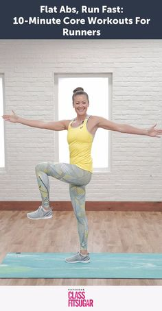 This Core Workout For Runners Will Make Your Abs Burn