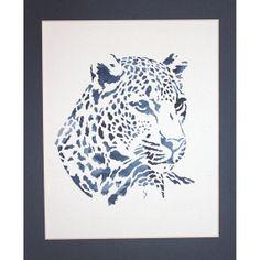 Handmade papercutting Leopard by ePaperCuts