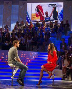 """VISTO DAL basso    : ATLETICA Schwazer parla a """"Verissimo"""", su Canale 5..."""