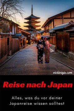 Alles, was du vor deiner Reise nach Japan wissen musst I Wissenswertes zu Japan I Land und Leute I Kultur Japan I Reiseinfos I #Japan