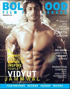 Vidyut Jamwal Body Photoshoot for Filmfare Canada 2013 - Movies & Celebrities