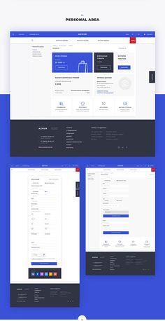 Azhur. Online store | UI/UX on Behance Dashboard Ui, Dashboard Design, App Ui Design, Interface Design, User Interface, Footer Design, Graphisches Design, Layout Design, 2020 Design