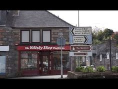 Visiting The Whiskyshop Dufftown