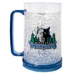 Minnesota Timberwolves NBA Crystal Freezer Mug