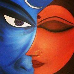 Art Painting Gallery, Mural Painting, Painting & Drawing, Shiva Art, Krishna Art, Shiva Shakti, Lord Shiva Painting, Krishna Painting, Madhubani Art