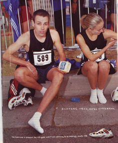 In 1999 and 2000, Adidas ran a memorable ad campaign.  these are some of the greatest running shoe ads ever created.  Each one touches on something private some of us experienced as a runner, something that a non-runner would probably appreciate.