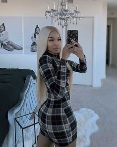 clothes i love Dope Outfits, Fashion Outfits, Womens Fashion, Winter Looks, Karin Jinsui, Looks Style, My Style, Tight Dresses, Fashion Killa