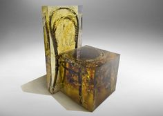 Nucleo design cast furniture in resin for Souvenir of the last Century collection
