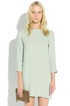 neo simple dress by surface to air. minty fun.