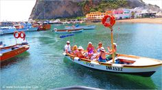 Water Taxi in Sant'Angelo, Ischia