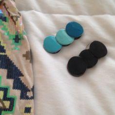Express bracelet bundle One black and one teal bracelet. Good preloved condition Express Jewelry Bracelets