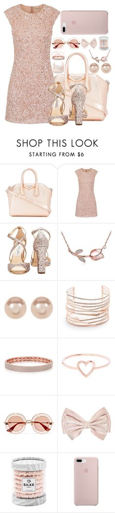 """""""555"""" by jesuisleclown ❤ liked on Polyvore featuring Givenchy, Jimmy Choo, Nordstrom Rack, Alexis Bittar, Love Is and Gucci"""