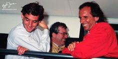 Ayrton Senna & Emerson Fittipaldi, 1992