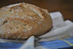 Pão e Beldroegas: Pão de Pirex com Sementes
