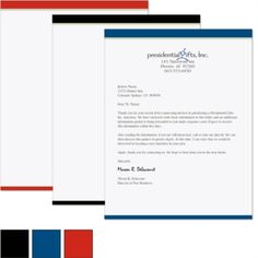 PaperDirect has a wide variety of business letterheads. Choose from our letterhead stationery templates or create your own custom letterhead. Letterhead Paper, Professional Image, Decorative Paper, Presentation Folder, Stationery Templates, Photo Logo, Business Look, Free Logo