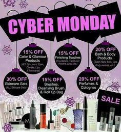 Cyber Monday Sale Ideas http://www.marykay.com/dpeters2013 Call or text 906-282-0516