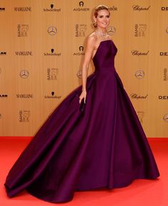 Heidi Klum - 2015 Bambi Awards - Red Carpet Fashion Awards