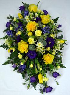 Elegant Funeral Sprays | Spring Funeral Spray (Flowers)