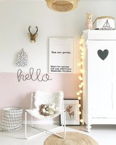Pink is the new white.. lambrisering, meisjeskamer, slaapkamer, bedroom, roze