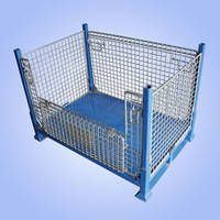 d668e89f13d Nexel® Wire Security Storage Truck 36x24x70 with Dolly Base 1600 Lb ...