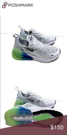 Men s Nike Air Max 270 SE - White Lime Authentic brand new in box Nike  Shoes Sneakers 3cac65baf3