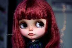 Reserved for K Valerie Blythe custom art ooak doll por Jodiedolls