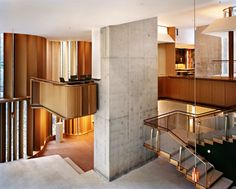 The Integral House by Shim-Sutcliffe Architects is an architectural marvel located in the stylish Rosedale area of Toronto.