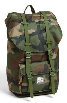 Camo Herschel backpack.