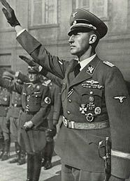 "Reinhard Heydrich {villain} -- ""The Blond Beast"" and ""The Butcher of Prague"", Himmler's right hand. Even many of the highest ranking Nazi officials refused to work closely with him, calling him ""that monster Heydrich."""