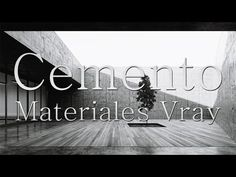 Materiales Vray Cemento - YouTube 3d Max Vray, Albedo, 3ds Max, Neon Signs, Youtube, School, Videos, Apartments, Tips